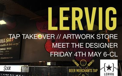 Lervig Brewery Tap Takeover 03/05/18